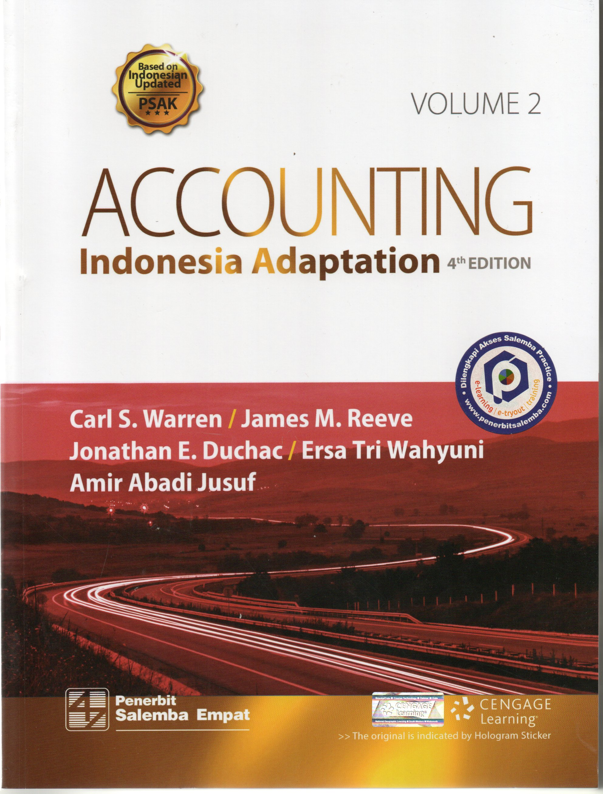 Accounting Indonesia adaption 4th ed vol 2 / Carl S. Warren