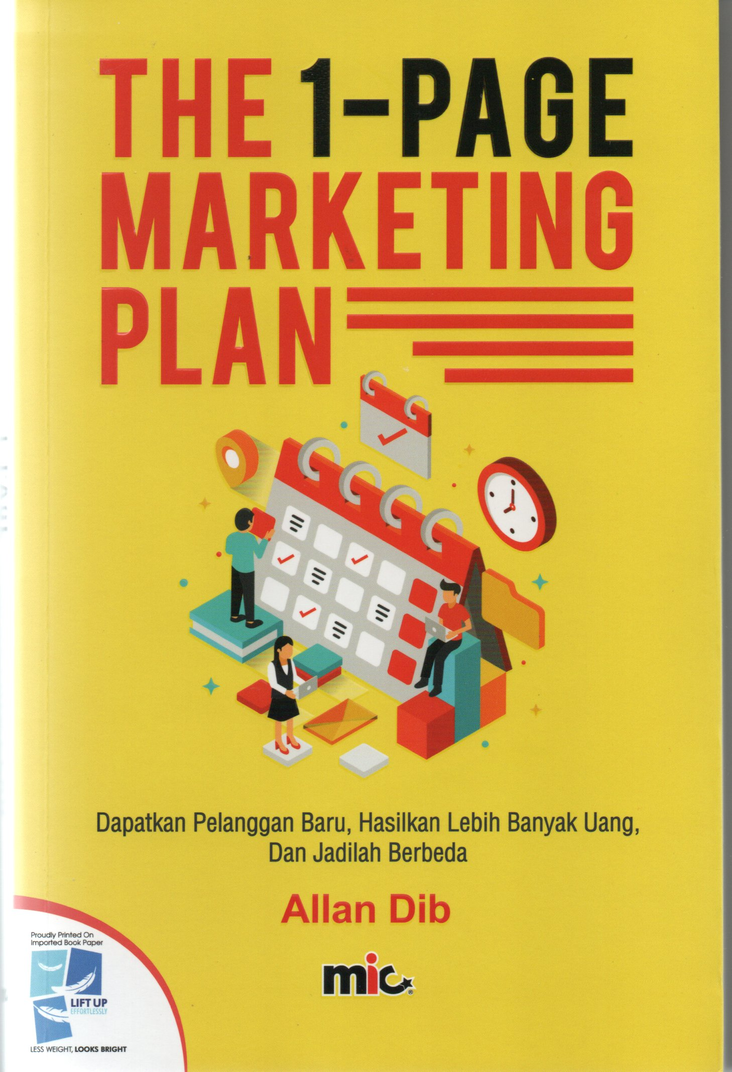 The I-page marketing plan / Allan Dib