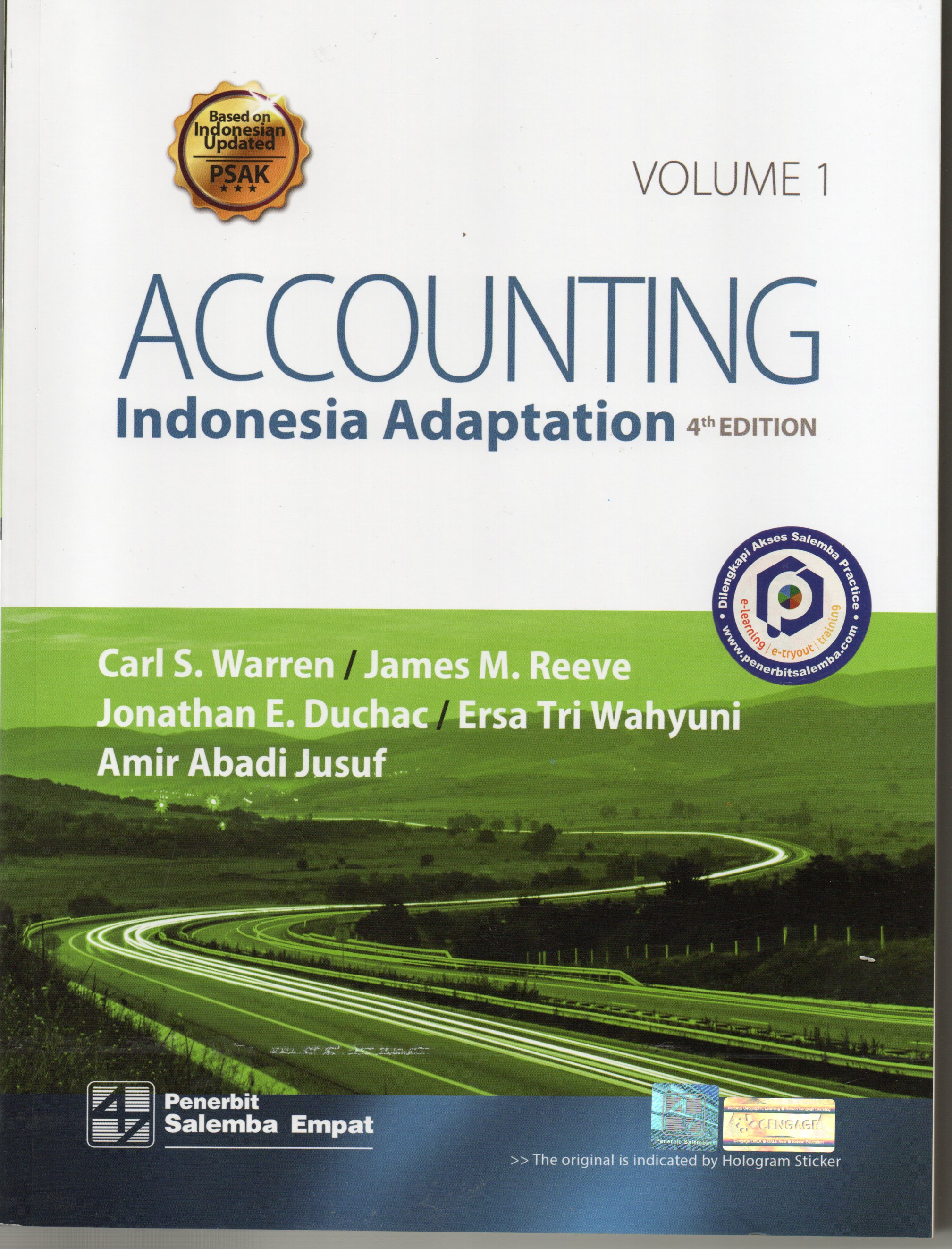 Accounting Indonesia adaption 4th ed / Carl S. Warren Vol 1