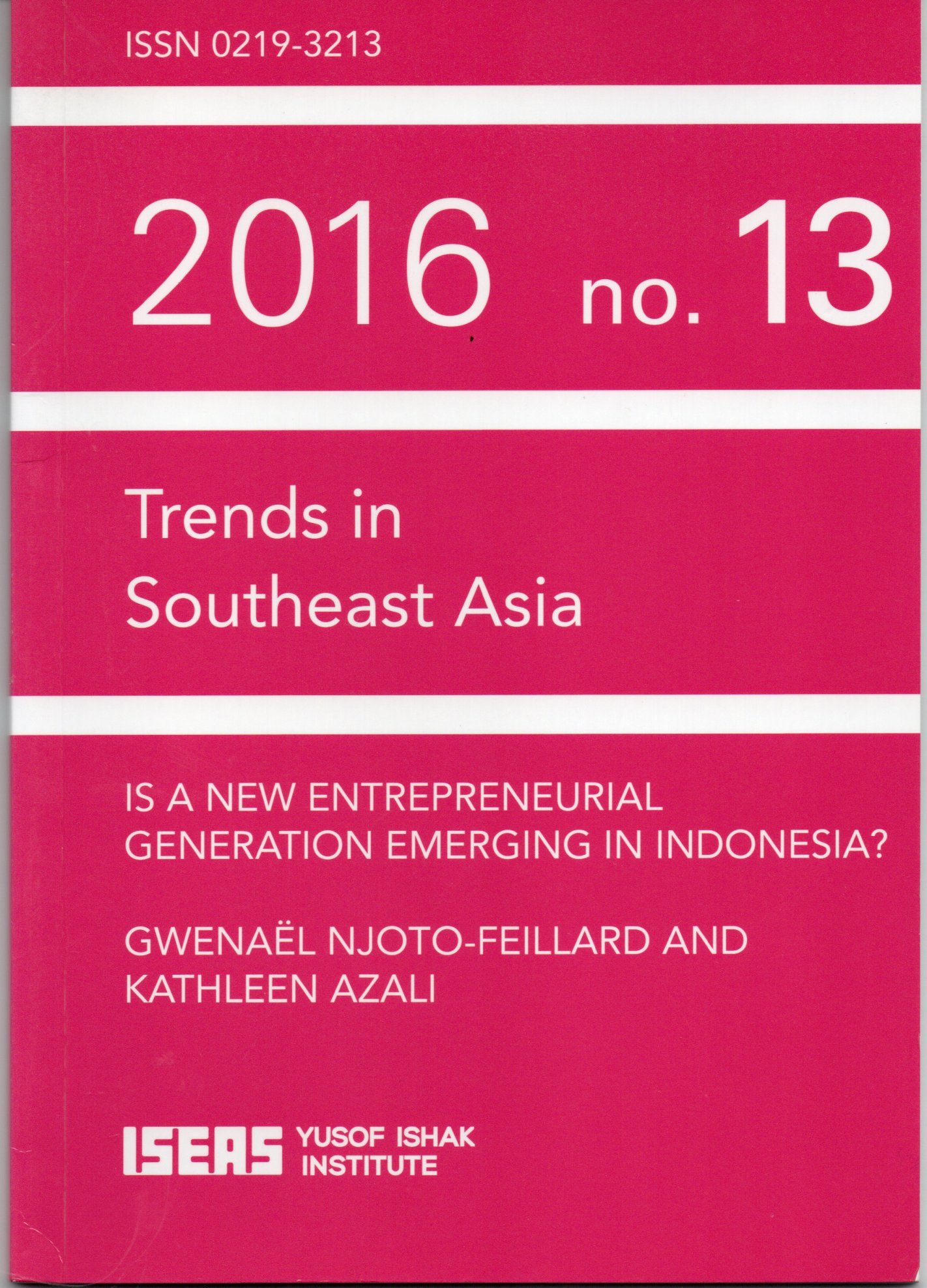 Trends in southeast Asia 2016 No 13 / Gwenael Njoto